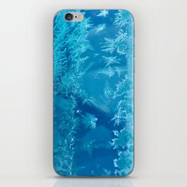 Hoar Frost Ice Crystals iPhone Skin