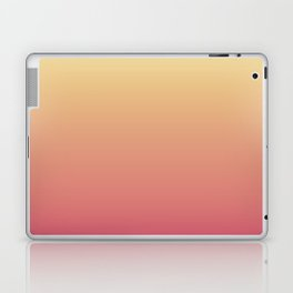 Summer Sunset Gradient Ombré Abstract Laptop & iPad Skin