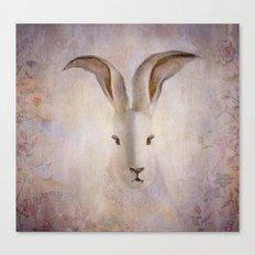 Madame Rabbit Canvas Print