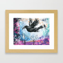Soul Bird Framed Art Print
