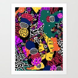Slowdown Art Print
