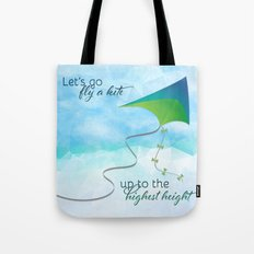 Let's Go Fly a Kite! Tote Bag
