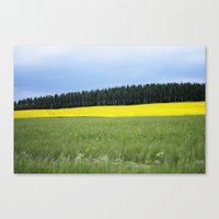 sweden Canvas Prints featuring Sweden by Anya Kubilus