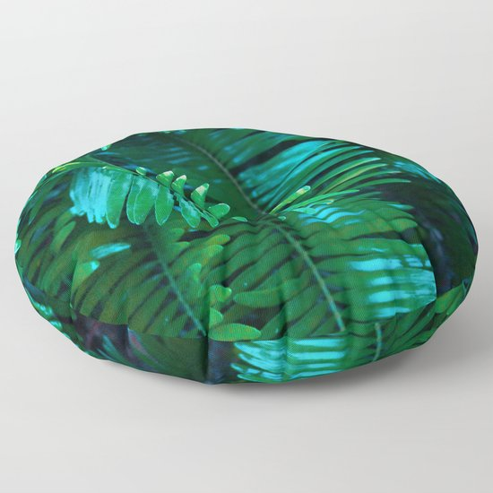 Green Palm Leaves by erikakai