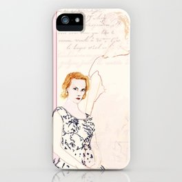 Joan Holloway iPhone Case