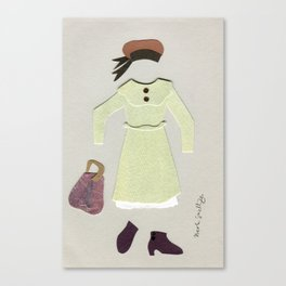 Anne of Green Gables Outfit, 1 Canvas Print