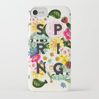 spring iPhone & iPod Cases featuring SPRING by Dawn Gardner