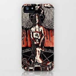 Orgy of Blood iPhone Case