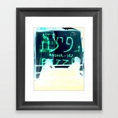 Booths Framed Art Print