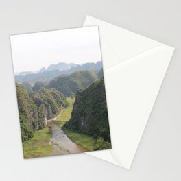 pathway to tranquillity Stationery Cards