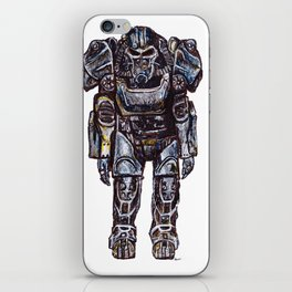 T-60 Power Armour iPhone Skin