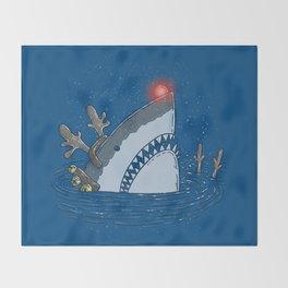 Rudolph Shark Throw Blanket