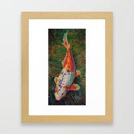 Volunteer Park Koi #9 Framed Art Print
