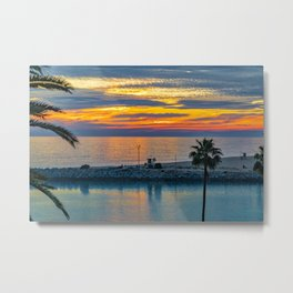Electric Sunset at the Wedge Metal Print