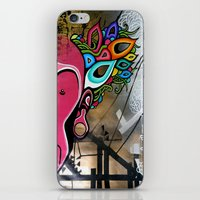 creativity iPhone & iPod Skins featuring Creativity by Connor Beale