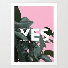 YES Art Print