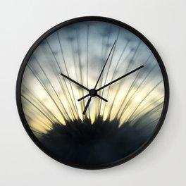 Dandelion & Sun II. Wall Clock