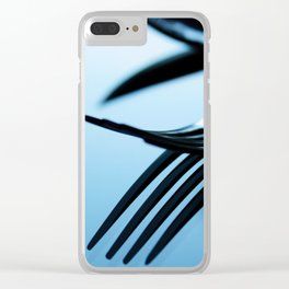 cutlery 2 Clear iPhone Case