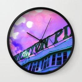 Holiday Vibes Wall Clock