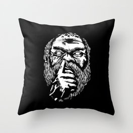 SOCRATES ERA VULGAR Throw Pillow
