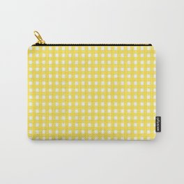 Buttercup Checkered Carry-All Pouch