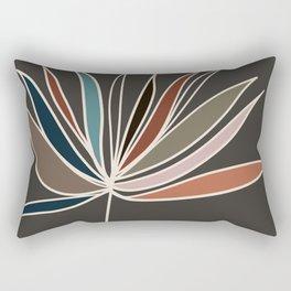 Minimal Floral #1 Rectangular Pillow