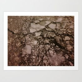 river ice Art Print