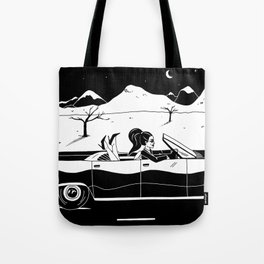 Driving in Cars with Girls Tote Bag