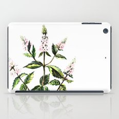 watercolor peppermint iPad Case