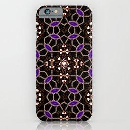 Mandala network iPhone Case