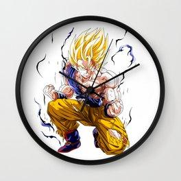 Goku Super Saiyan 2 Wall Clock