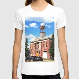 Silverton City Hall, built in 1908 T-shirt