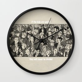 If The Kids Are United Wall Clock