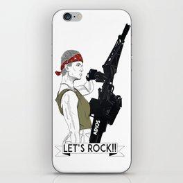 Let's rock! iPhone Skin