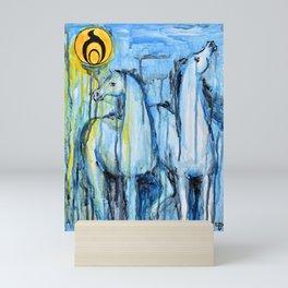 Empowerment: Spirit Horses Rise Mini Art Print