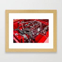 Engine Framed Art Print