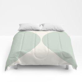 Curvature Minimalism - Sage Comforters