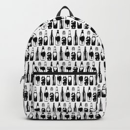 Vintage Beer Bottles Backpack