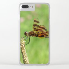 Field Dragonfly Clear iPhone Case