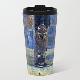 Waiting to Skate  -  Skateboarder Travel Mug