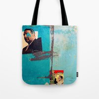 greek Tote Bags featuring Greek by Alec Goss