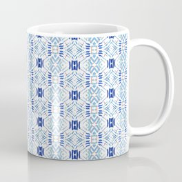 Asian Blue - inspired by Japanese textiles Coffee Mug