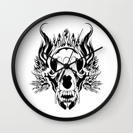 King Even After Death Wall Clock