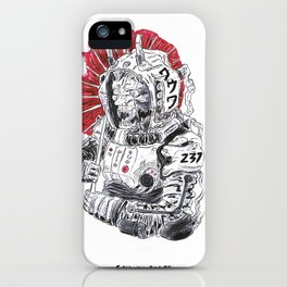 Oni in Space iPhone Case