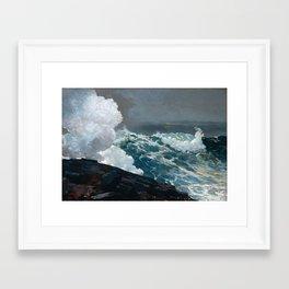 Northeaster - Winslow Homer Framed Art Print