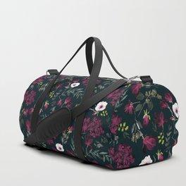 Romantic Pattern - Dark Duffle Bag