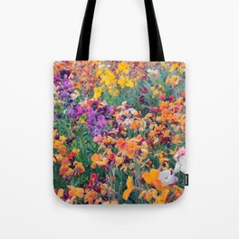 COLOUR POP // SPRING FLOWERS  Tote Bag