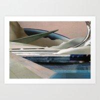 hydra Art Prints featuring HYDRA by Caroline Silva Cruz