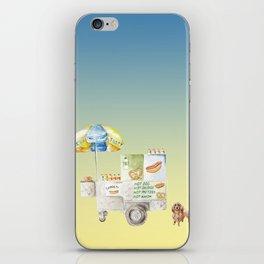 Hot Dog Truck iPhone Skin