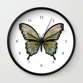 mossy seraph (Seraphicus meos) Wall Clock